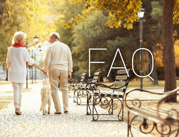 FAQ retirement homes