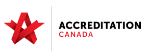 Logo certification Accreditation Canada